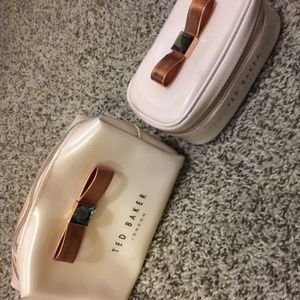 TED BAKER Make-up and Jewelry bag set